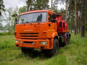 Иконка АКН-10ОД на шасси КАМАЗ 43118-46 (КО-505А)