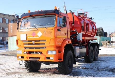 Иконка Автоцистерна АКНС-13 на шасси КАМАЗ 65224