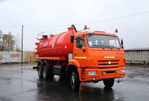 Иконка АКН-15ОД на шасси КАМАЗ 65111
