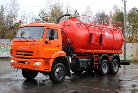 Иконка АКН-15 на шасси КАМАЗ 65111
