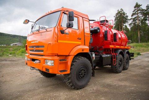 Иконка АКН-10ОД на шасси КАМАЗ 43118-46