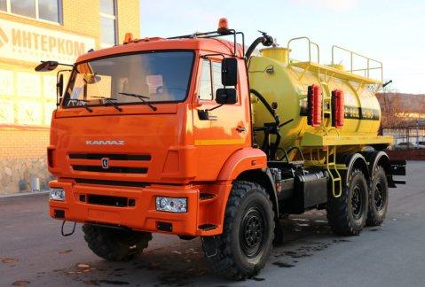 Иконка АКН-10 на шасси КАМАЗ 43118-46 (Едкое вещество)