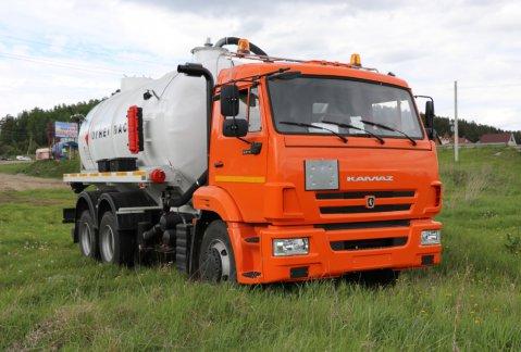 Иконка АКН-15 на шасси КАМАЗ 65115