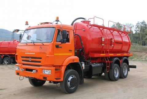 Иконка АКН-17 на шасси КАМАЗ 65111
